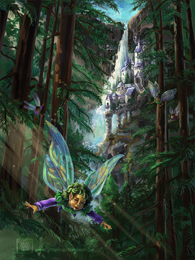 TVW Fantasy Fairy Castle in the Woods.png