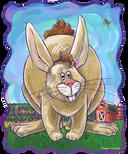 Animal Parade Rabbit Head
