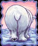 Animal Parade Polar Bear Tail
