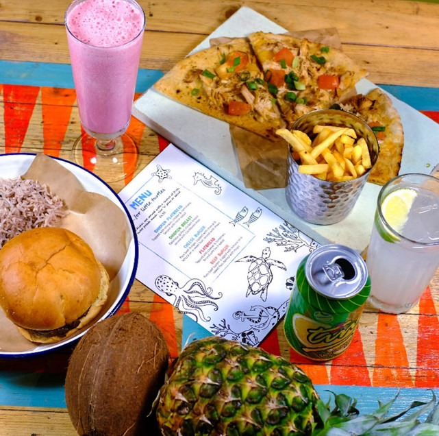 Escape to Turtle Bay this half term where it's free drinks for the grown ups!