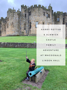 Harry Potter & Alnwick Castle Family Experience at Macdonald Linden Hall