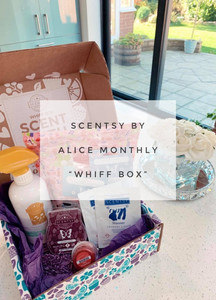 """Scentsy by Alice monthly """"Whiff Box"""""""