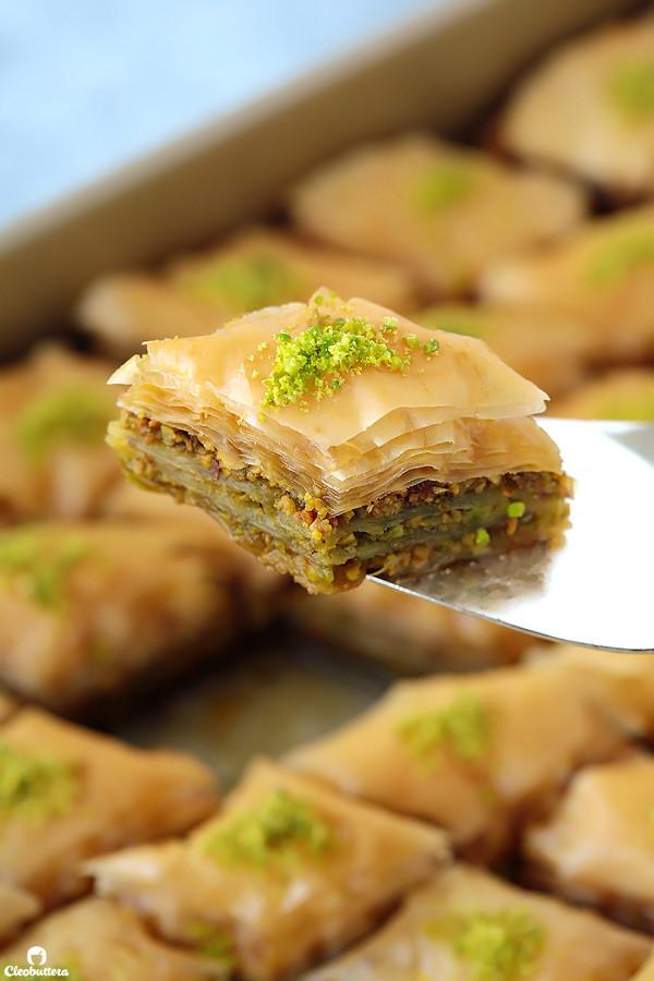 Street food desserts: Baklava