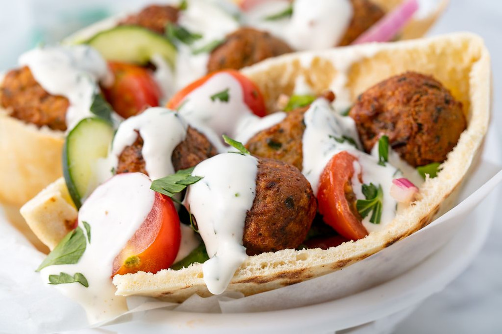 Food Truck Menu Ideas - Falafels