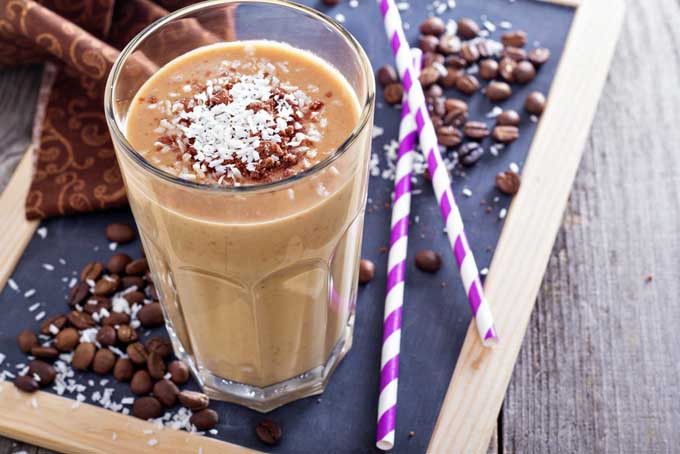 CHOCOLATE COFFEE SMOOTHIE