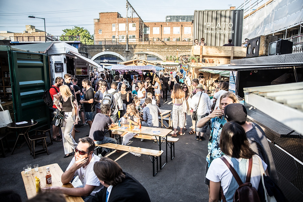 Where Are Food Trucks Most Succesful? street food markets