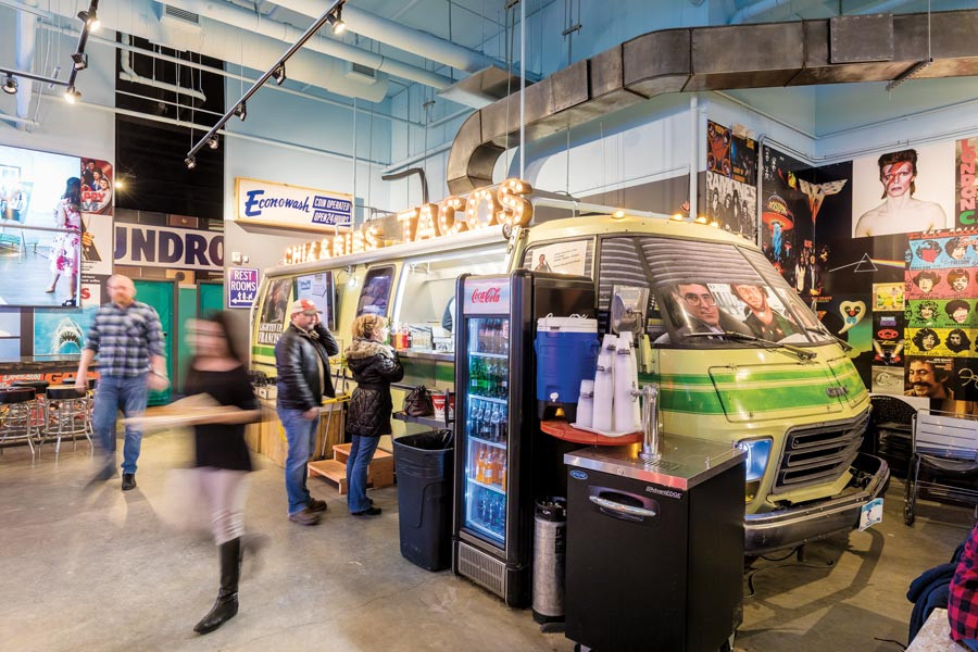 Where Are Food Trucks Most Succesful? food halls