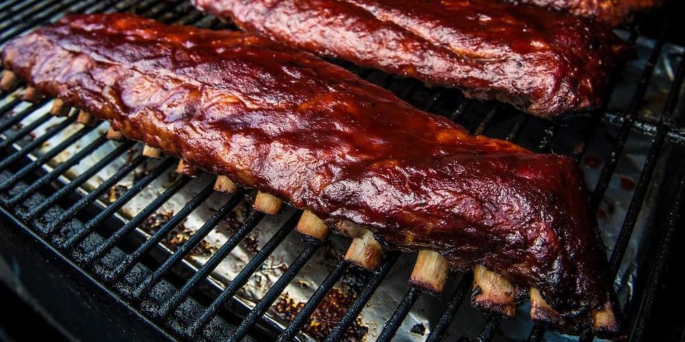 BBQ Food Truck Menu Ideas - pork ribs