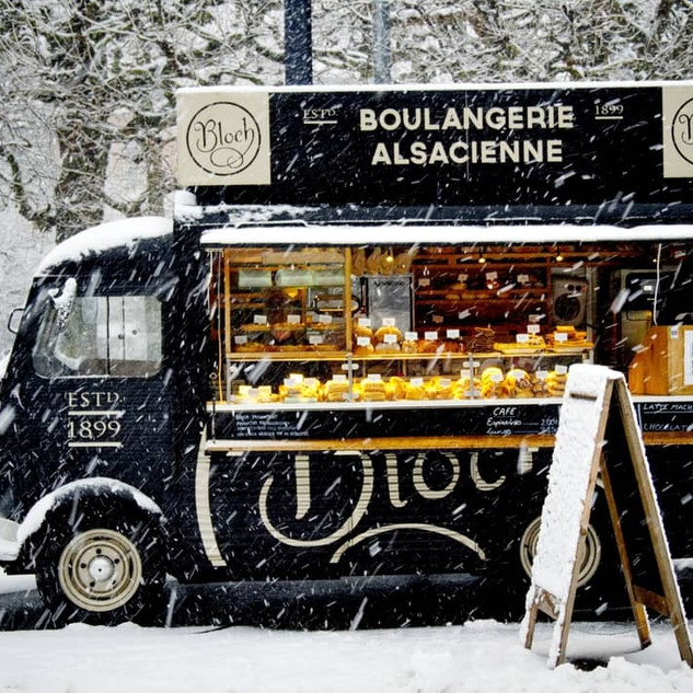 H van food truck