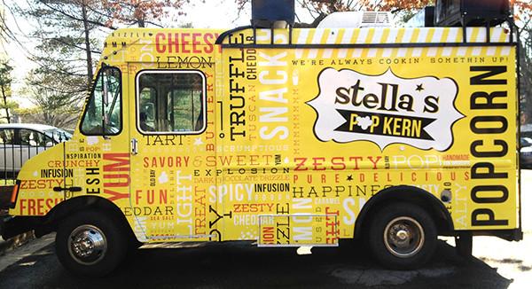 food truck vinyl wrap design