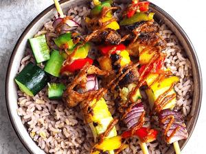 15 Inspiring Vegan Food Truck Menu Ideas - vegan food truck kebabs