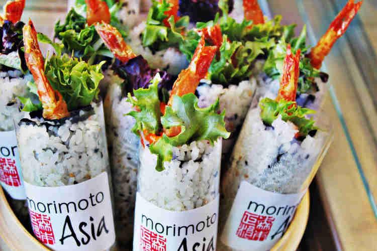 Healthy Food Truck Menu Ideas - Japanese food