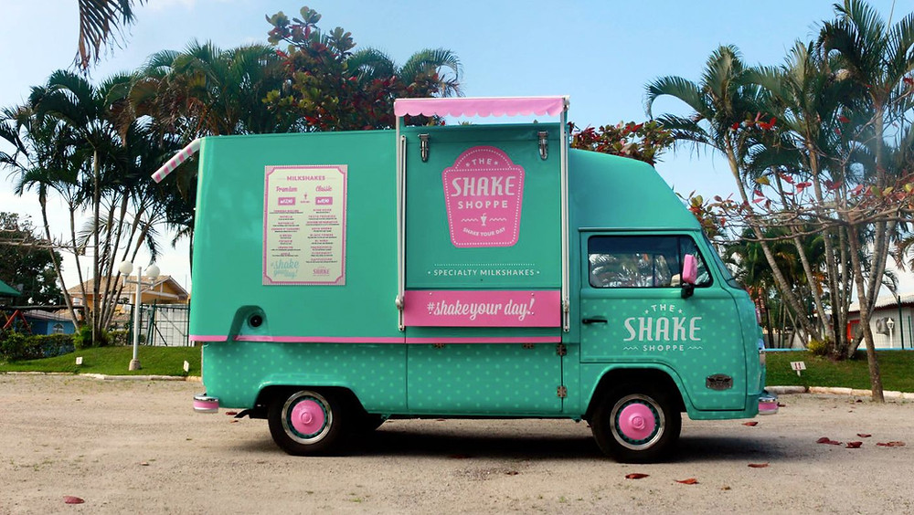 Food Truck Drink Ideas - milkshake truck