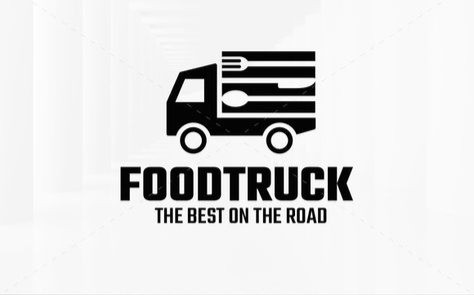 Food truck logo design