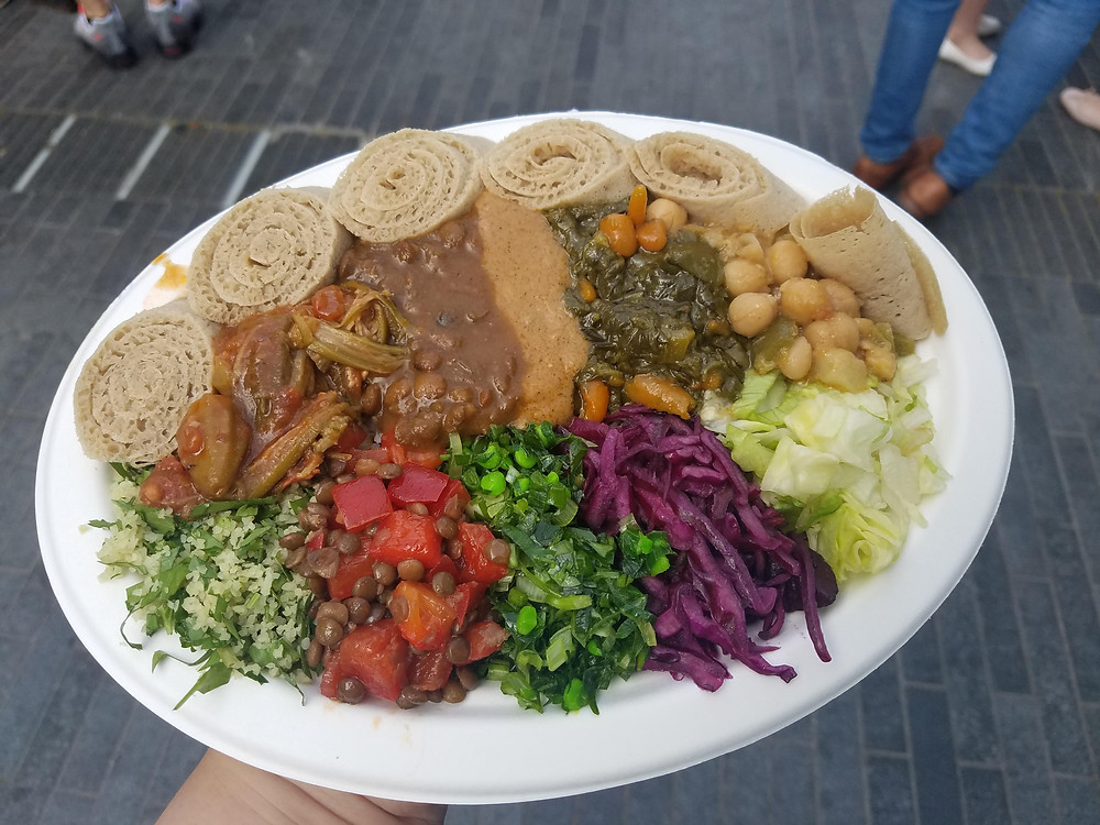 Healthy Food Truck Menu Ideas - Ethiopian food