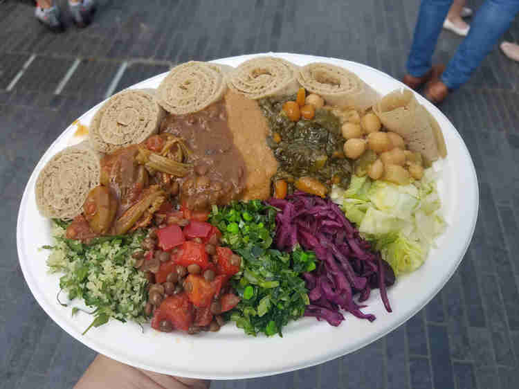Healthy Food Truck Menu Ideas - Ethiopian food