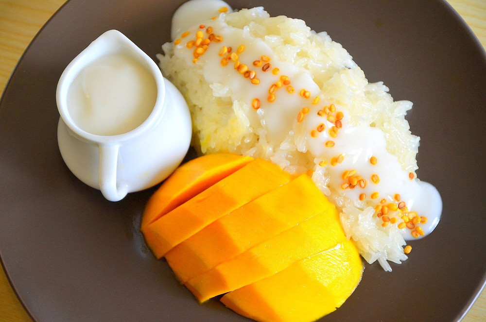 Food Truck Menu Ideas - mango sticky rice