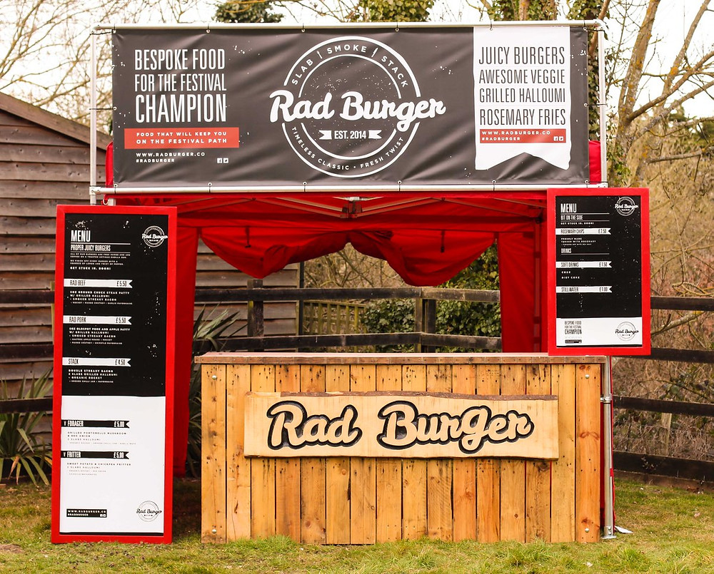 How much does it cost to start a food stall?