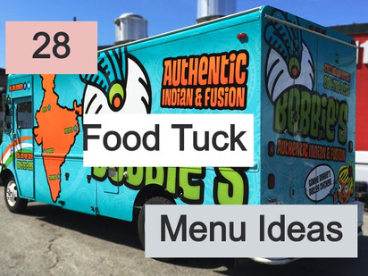 28 Food Truck Menu Ideas 2020