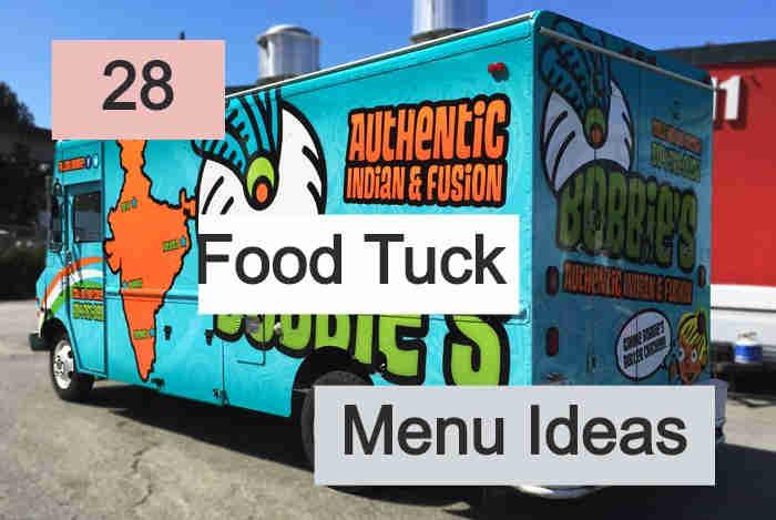 Food Truck Menu Ideas 2020