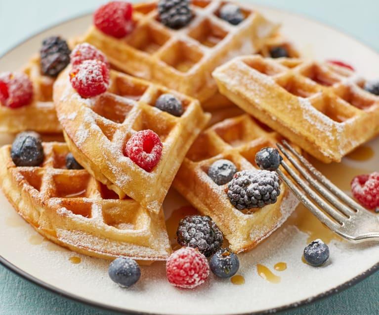 21 Tasty Food Truck Desserts - waffles