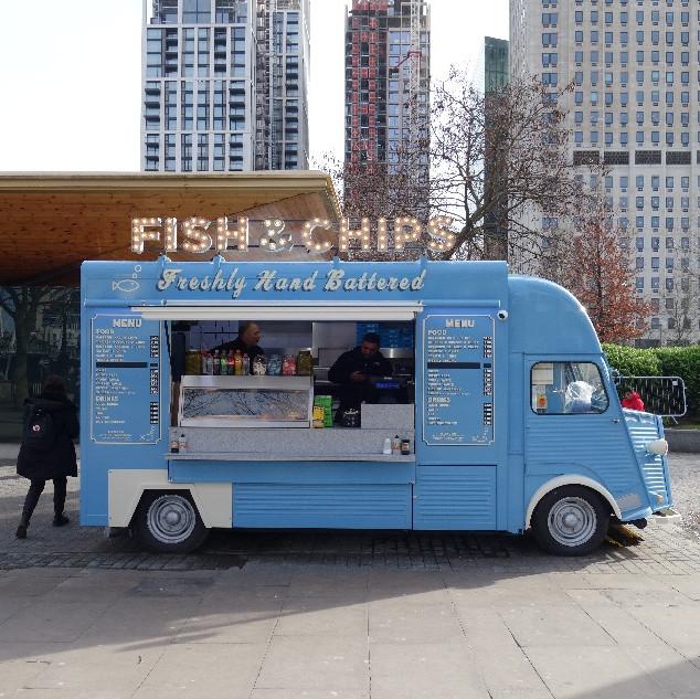 Street food design ideas. H van