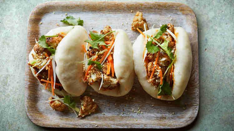 food truck menu ideas - bao buns