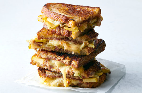 Food Truck Menu Ideas - Grilled cheese sandwiches