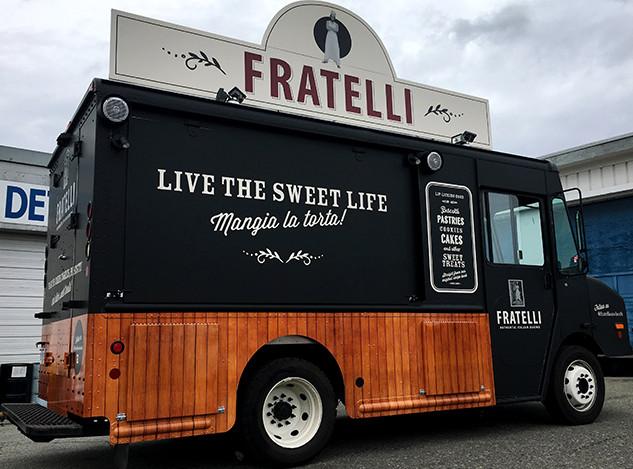 food trailer vehicle wraps