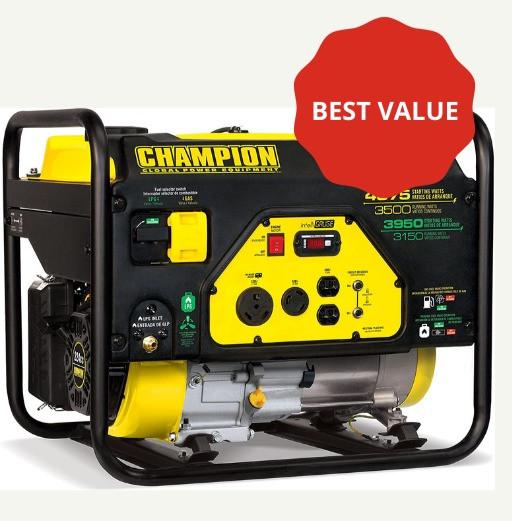 best natural gas powered generators - champion power equipment - dual fuel