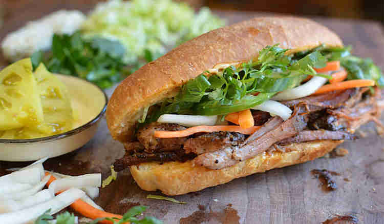 Food Truck Menu Ideas - Banh Mi