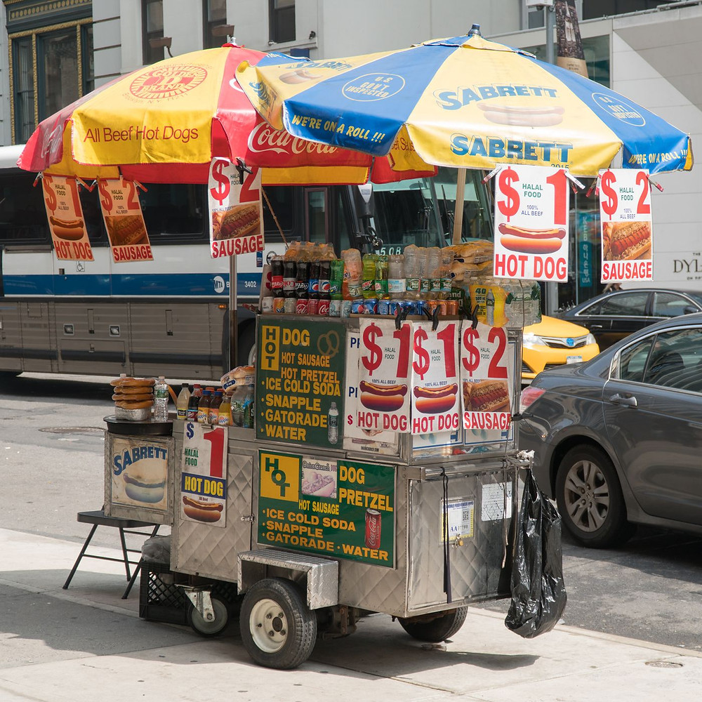 Types of vehicles used for food trucks - food cart