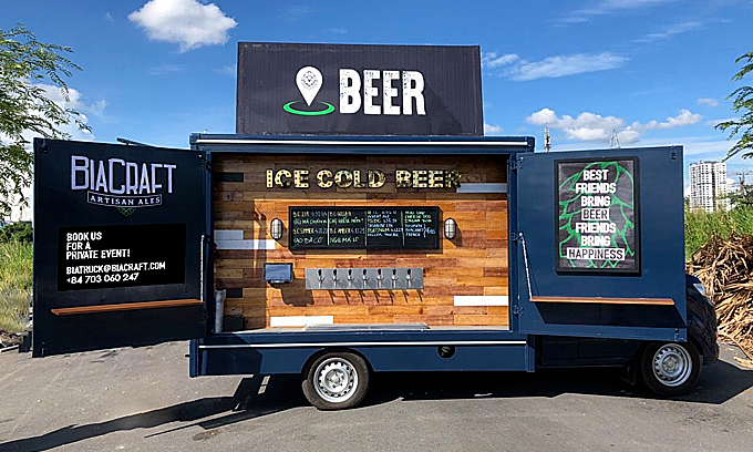 Food Truck Drink Ideas - craft beer truck