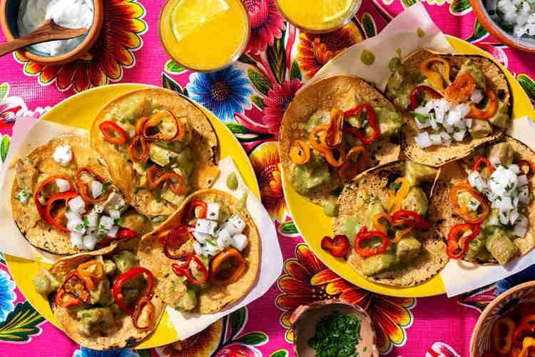 Healthy Food Truck Menu Ideas - Mexican food