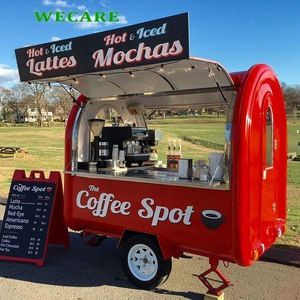Types of vehicles used for food trucks - Catering pods