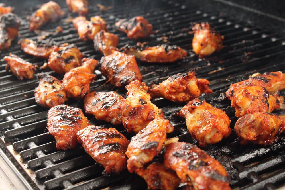 BBQ Food Truck Menu Ideas - chicken wings
