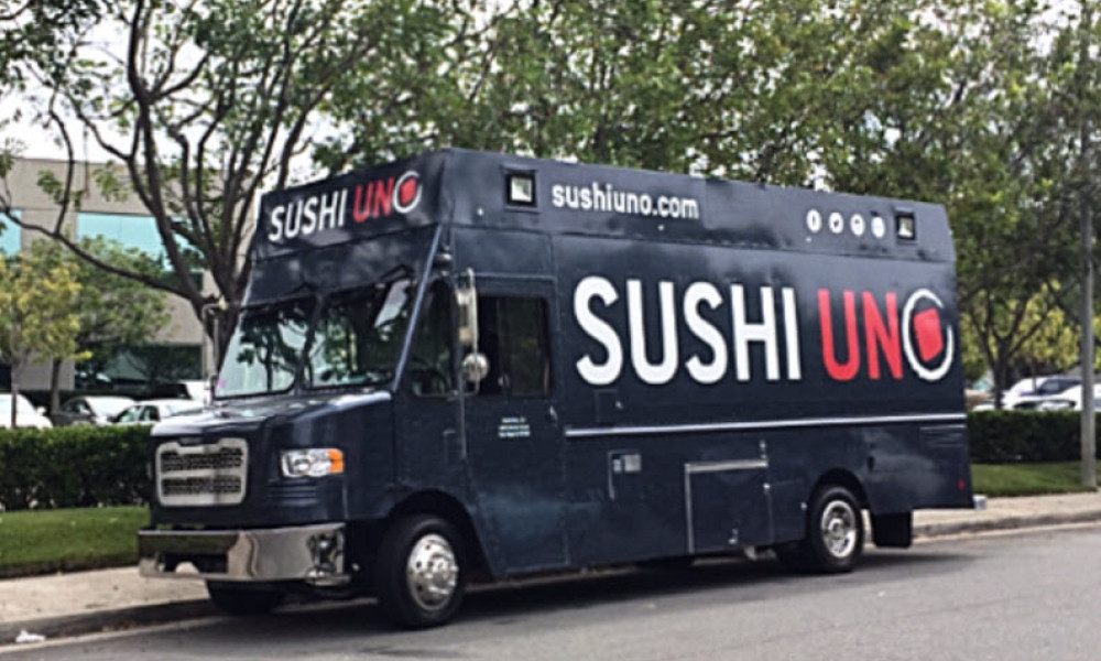 Food truck business ideas 2020 - Sushi food truck