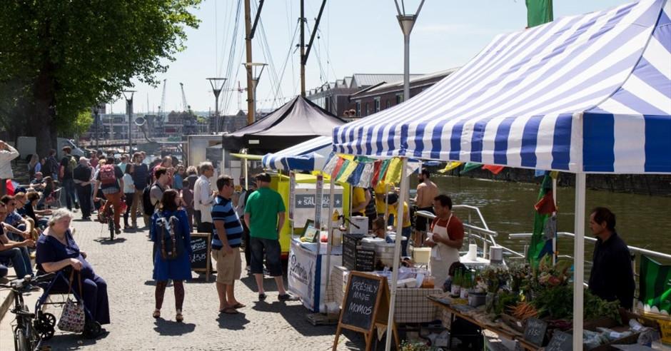 The Harbourside Food Market, Bristol