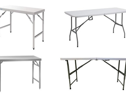 5 Best Folding Tables For Food & Market Stalls 2020