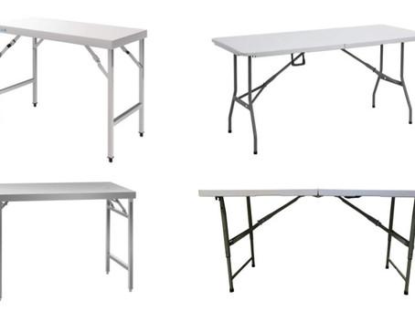 5 Best Folding Tables For Food & Market Stalls 2020