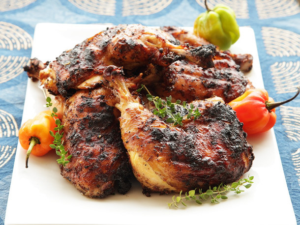 Food Truck Menu Ideas - Jerk Chicken