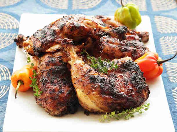 Food Truck Menu Ideas - Jerk Chicken