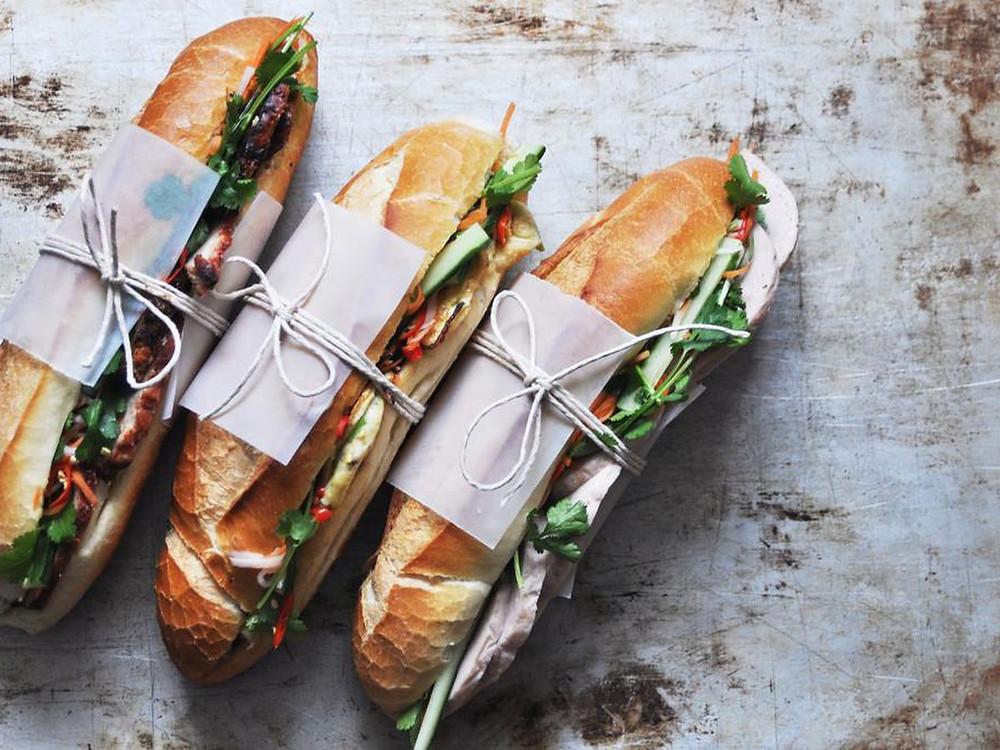 Food truck breakfast menu ideas - Banh Mi