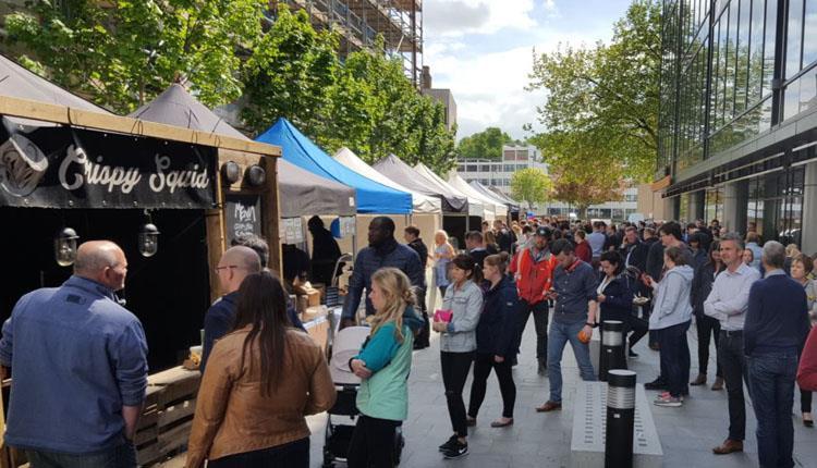 Food markets in Bristol