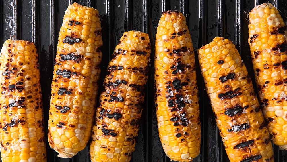 BBQ Food Truck Menu Ideas - corn on the cob