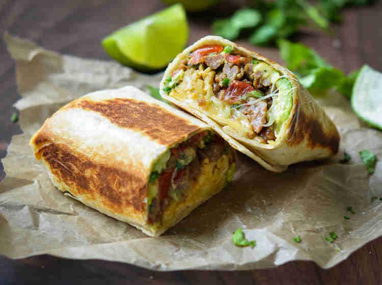 Food Truck Menu Ideas - Burrito