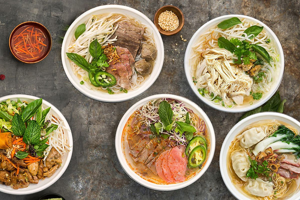 Food Truck Menu Ideas - Pho