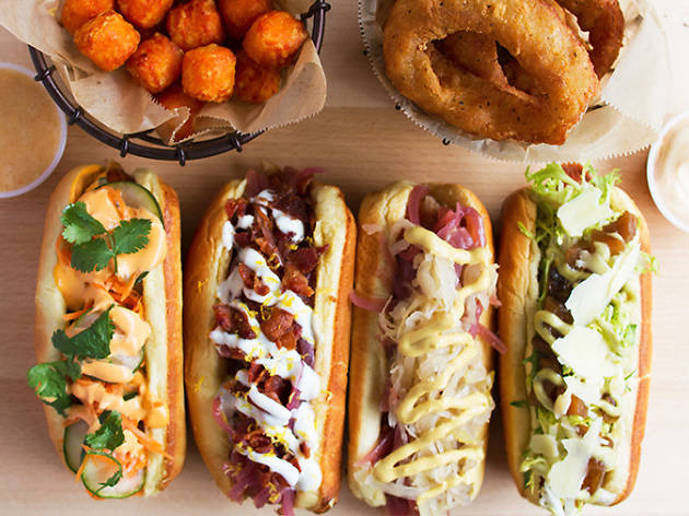 Healthy Food Truck Menu Ideas - vegan hotdogs