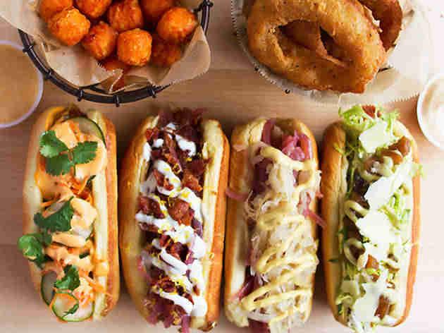 Healthy Food Truck Menu Ideas - vegan hotdogs
