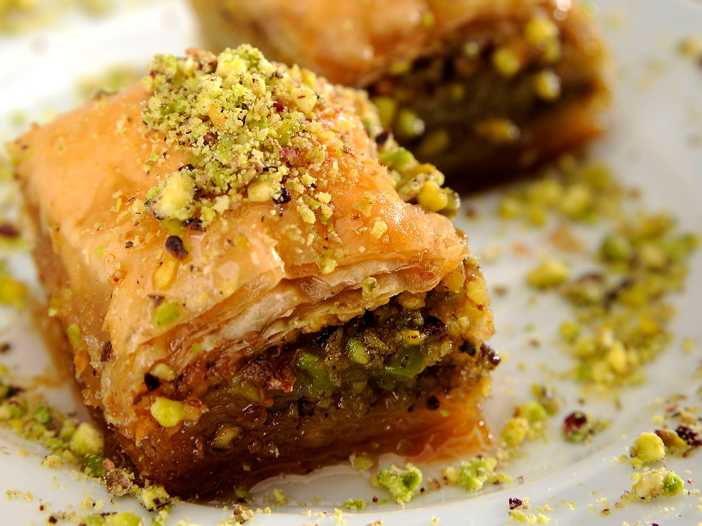 21 Tasty Food Truck Desserts - baklava